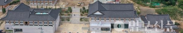 범어사 선문화교육센터 전경.
